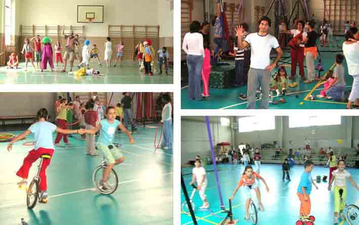 Scuola di Circo per l'infanzia